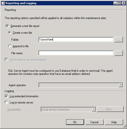 SQLReportingAndLogging