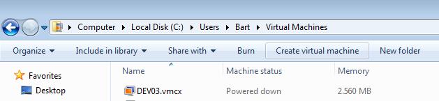 Windows7VPCDirectory